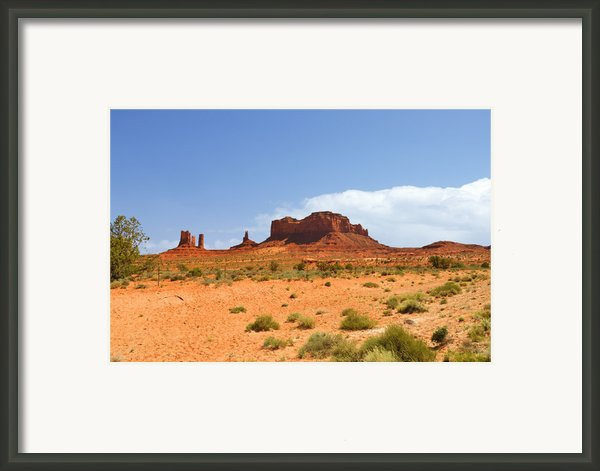 Magnificent Monument Valley Framed Print By Christine Till