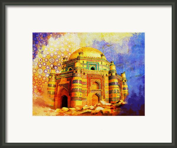 Mai Jwandi Tomb On Makli Hill Framed Print By Catf
