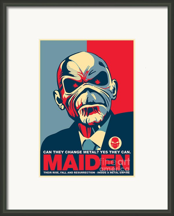 Maiden No.01 Framed Print By Unknow