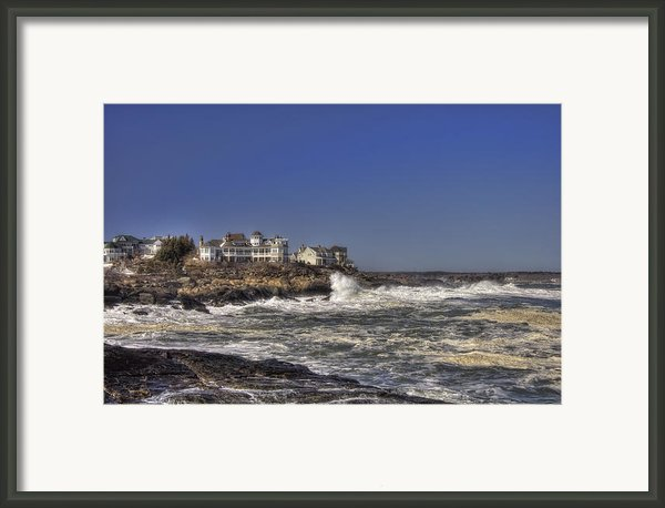 Main Coastline Framed Print By Joann Vitali