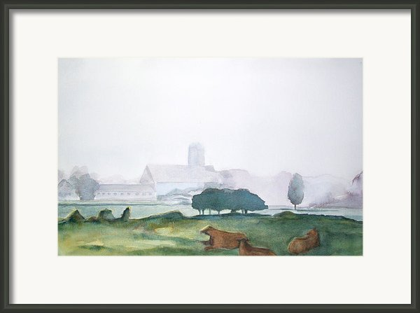 Maine Cathedral Framed Print By Grace Keown