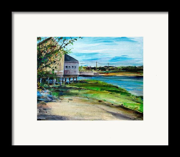 Maine Chowder House Framed Print By Scott Nelson