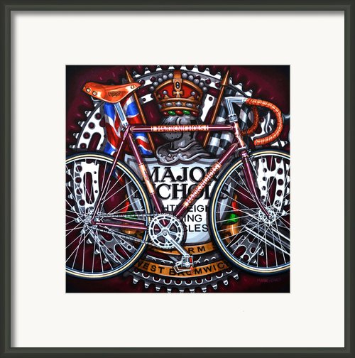Major Nichols Framed Print By Mark Howard Jones