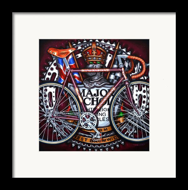 Major Nichols Framed Print By Mark Howard Jones