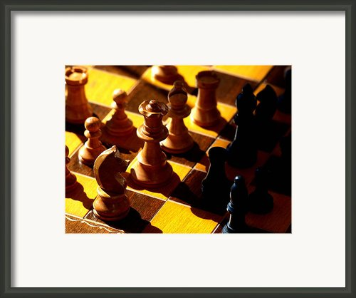 Making A Move Framed Print By Camille Lopez