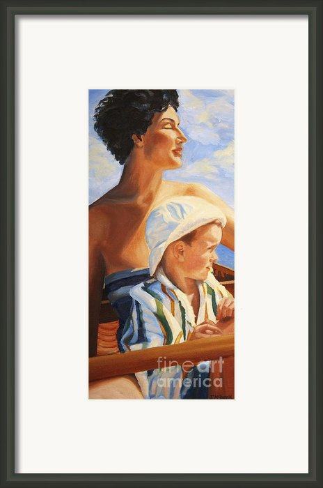 Mama Goddess Framed Print By Janet Mcdonald