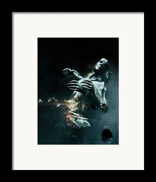Man Apart Framed Print By Philip Brunner