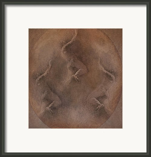 Man In The Moon Framed Print By Jeff Burgess