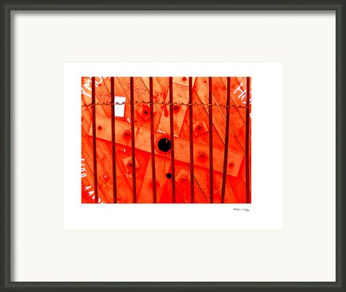 Man Made Abstract 2 Framed Print By Xoanxo Cespon