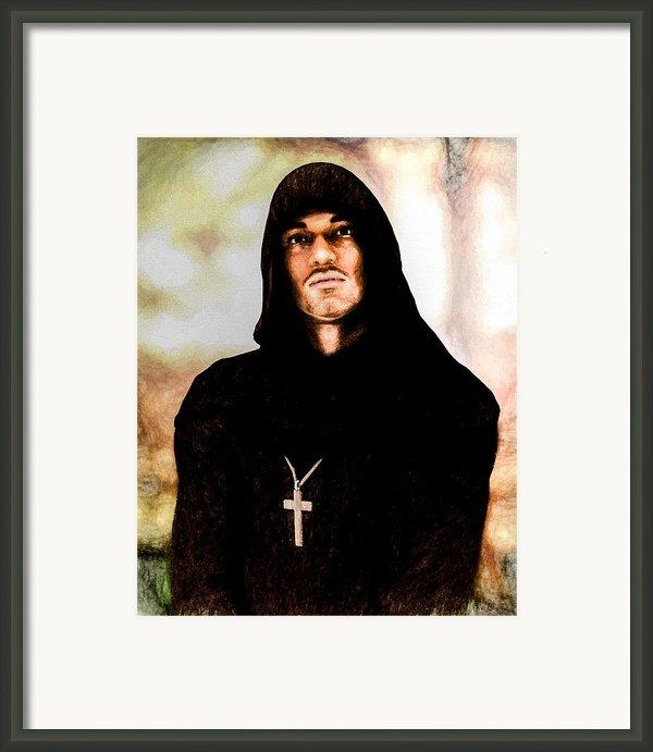 Man Of Peace Framed Print By Bob Orsillo