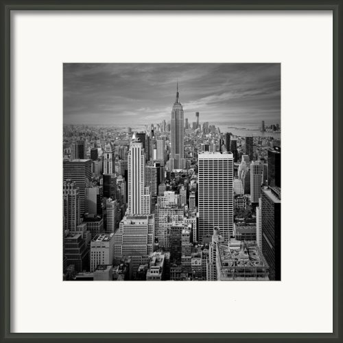 Manhattan Framed Print By Melanie Viola