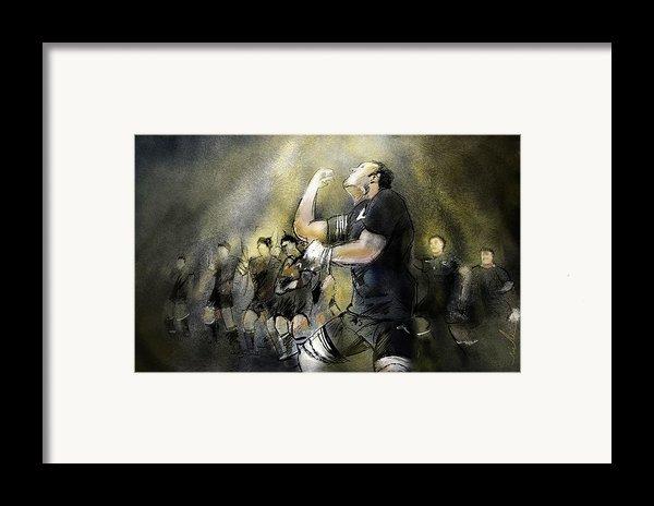 Maori Haka Framed Print By Miki De Goodaboom