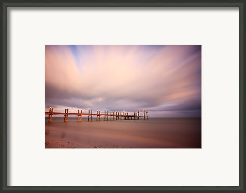 Marathon Key Long Exposure Framed Print By Adam Romanowicz