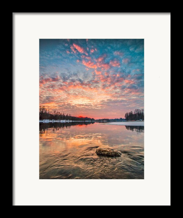 Marble Sky Ii Framed Print By Davorin Mance