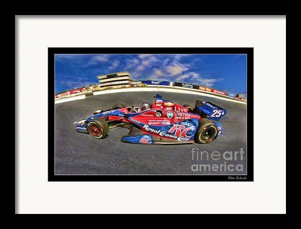Marco Andretti Framed Print By Blake Richards