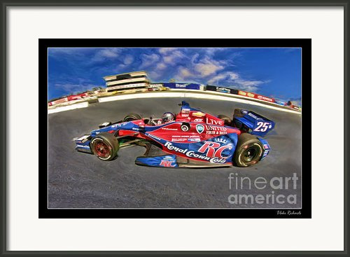 Marco Andretti Framed Print By Blake Richards