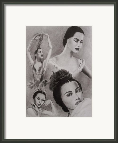 Maria Tallchief Framed Print By Amber Stanford