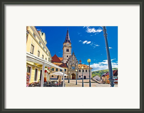 Marija Bistrica Marianic Sanctuary In Croatia Framed Print By Dalibor Brlek
