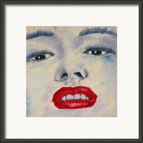 Marilyn Monroe Framed Print By David Patterson
