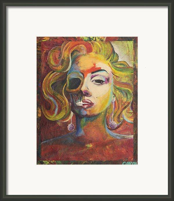 Marilyn Monroe Framed Print By Mike Caron