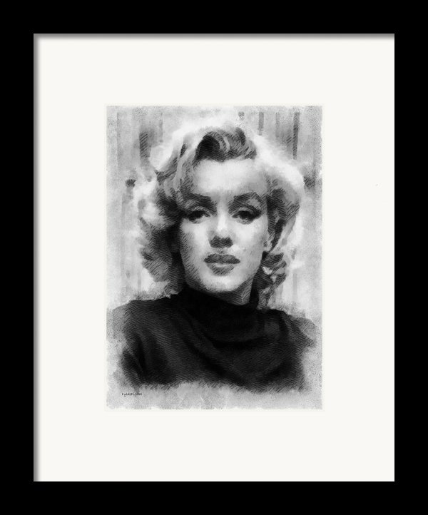 Marilyn Framed Print By Patrick Ohare