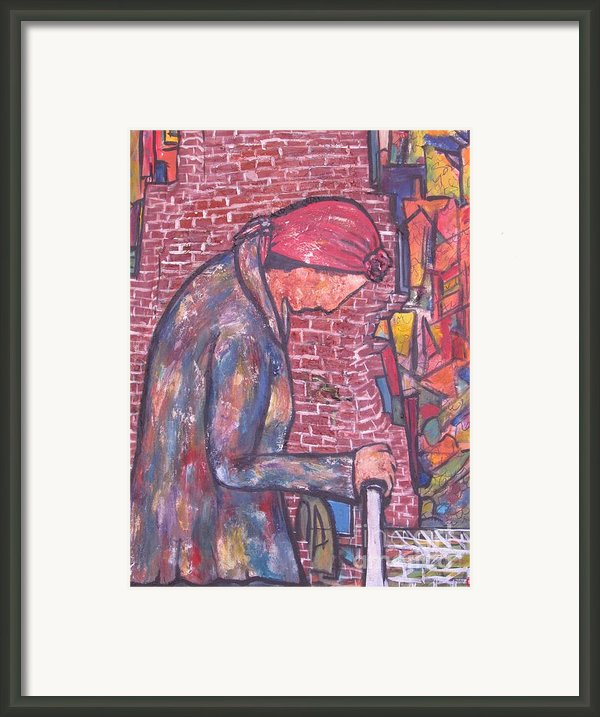Marlyna Framed Print By Chaline Ouellet