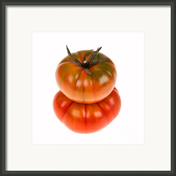 Marmande Tomatoes Framed Print By Jane Rix