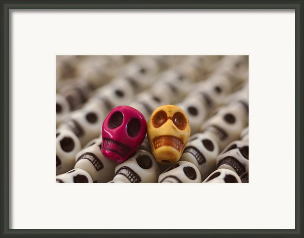 Maroon And Gold Framed Print By Mike Herdering