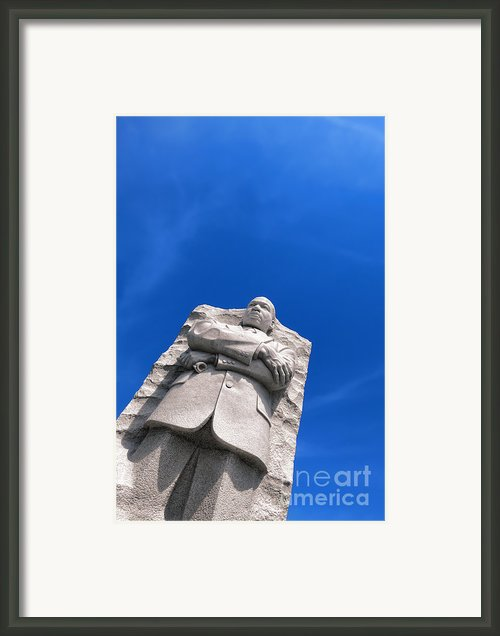 Martin Luther King Framed Print By Olivier Le Queinec