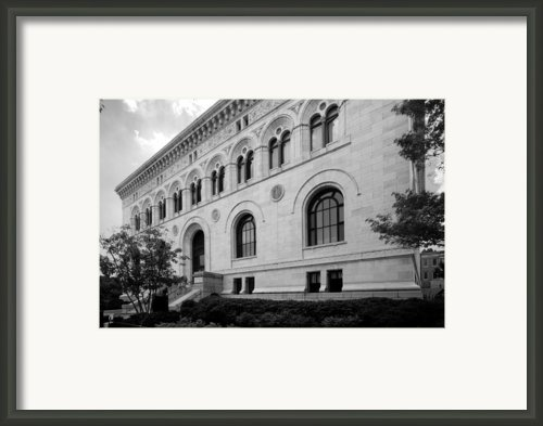 Maryland Institute College Of Art Framed Print By University Icons