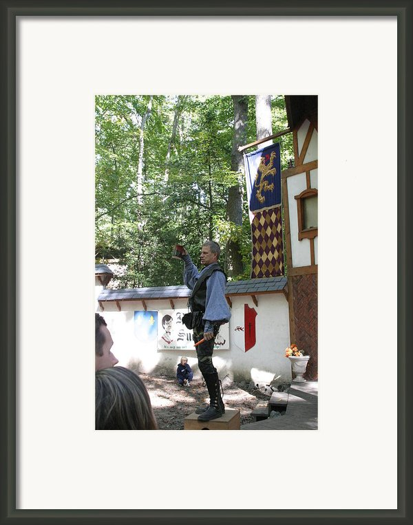 Maryland Renaissance Festival - Puke N Snot - 12122 Framed Print By Dc Photographer
