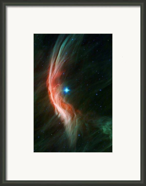 Massive Star Makes Waves Framed Print By Adam Romanowicz