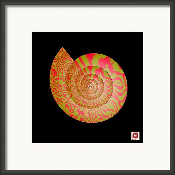 Math Conch Framed Print By Guojun Pan