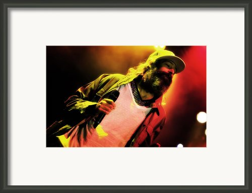 Matisyahu Live In Concert 2 Framed Print By The  Vault - Jennifer Rondinelli Reilly