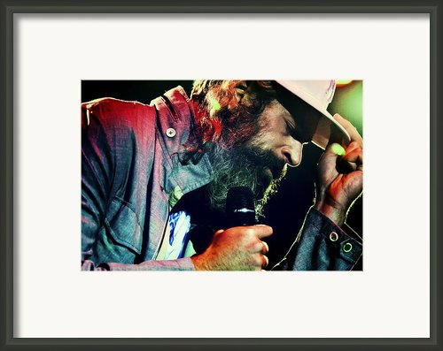 Matisyahu Live In Concert 7 Framed Print By The  Vault