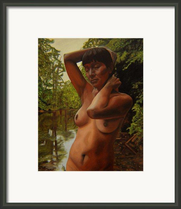 May Morning Arkansas River 4 Framed Print By Thu Nguyen