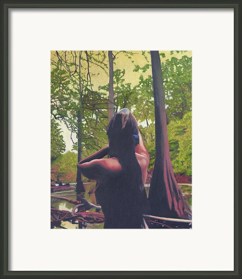May Morning Arkansas River 5 Framed Print By Thu Nguyen