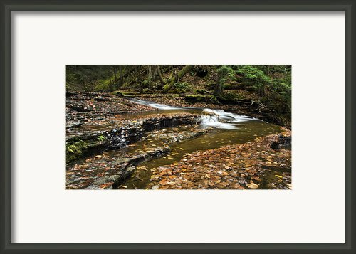 Meandering Waters Framed Print By Christina Rollo
