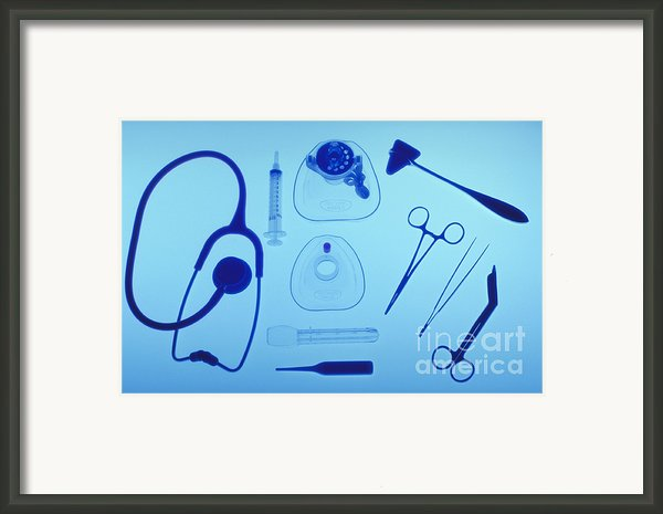 Medical Equipment Framed Print By Blair Seitz