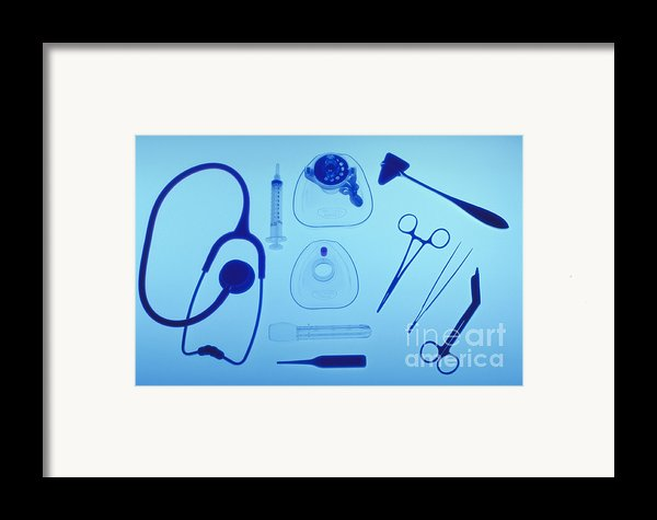 Medical Equipment Framed Print By Blair Seitz