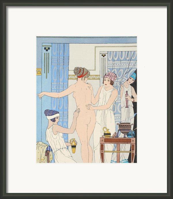 Medical Massage Framed Print By Joseph Kuhn-regnier