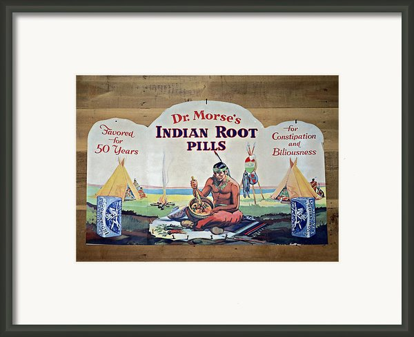 Medicine Man Framed Print By Susan Leggett