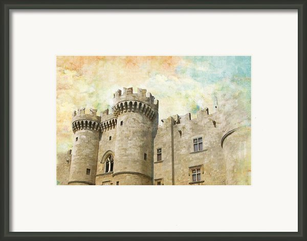 Medieval City Of Rhodes Framed Print By Catf