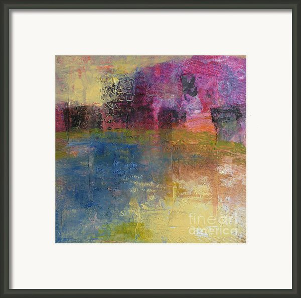 Meditation Place Framed Print By Melody Cleary