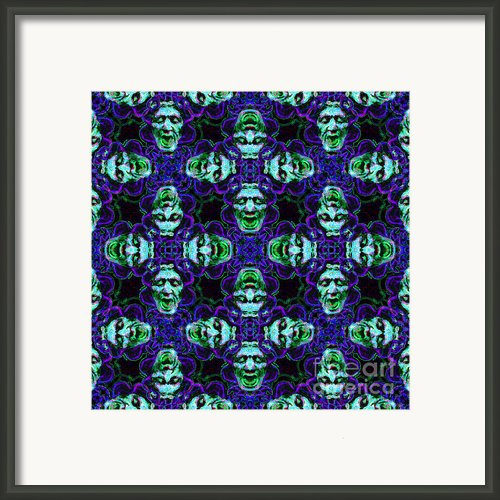 Medusa Abstract 20130131p138 Framed Print By Wingsdomain Art And Photography