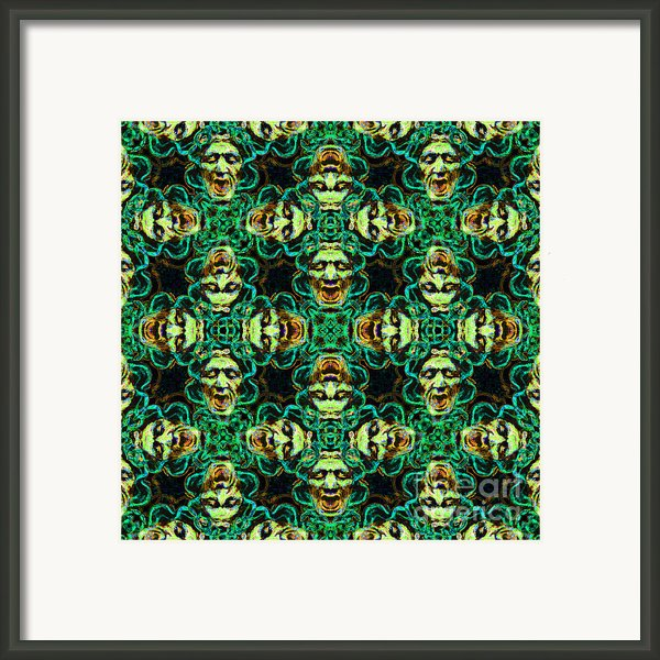 Medusa Abstract 20130131p38 Framed Print By Wingsdomain Art And Photography