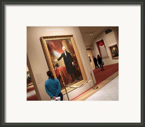 Meeting George Washington Framed Print By Cora Wandel