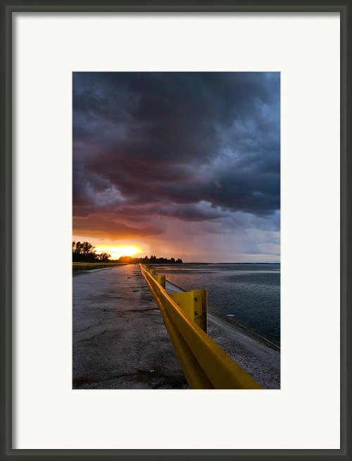 Melting Point Framed Print By Davorin Mance