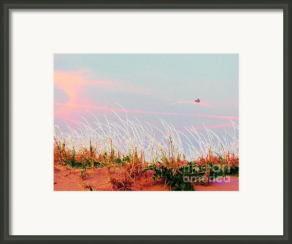 Memorial Day By The Sea Framed Print By Susan Carella