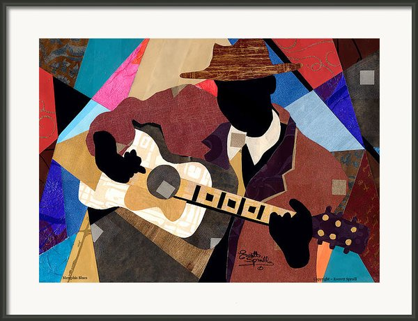 Memphis Blues 2012 Framed Print By Everett Spruill